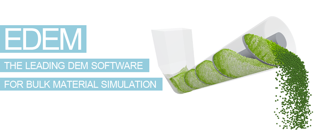The Leading DEM Software for Bulk Material Simulation